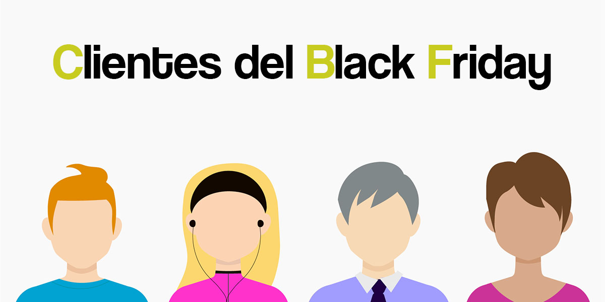 Tipos de Clientes ante el Black Friday